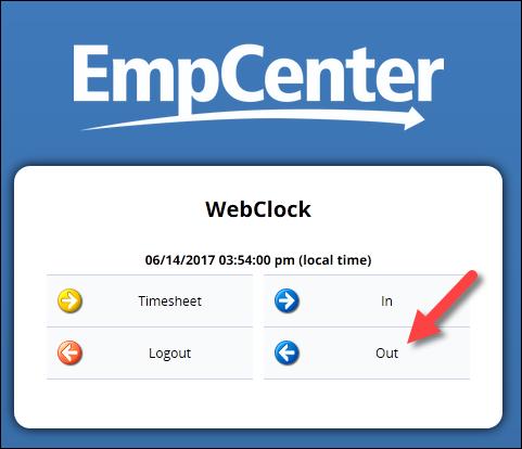 web clock links